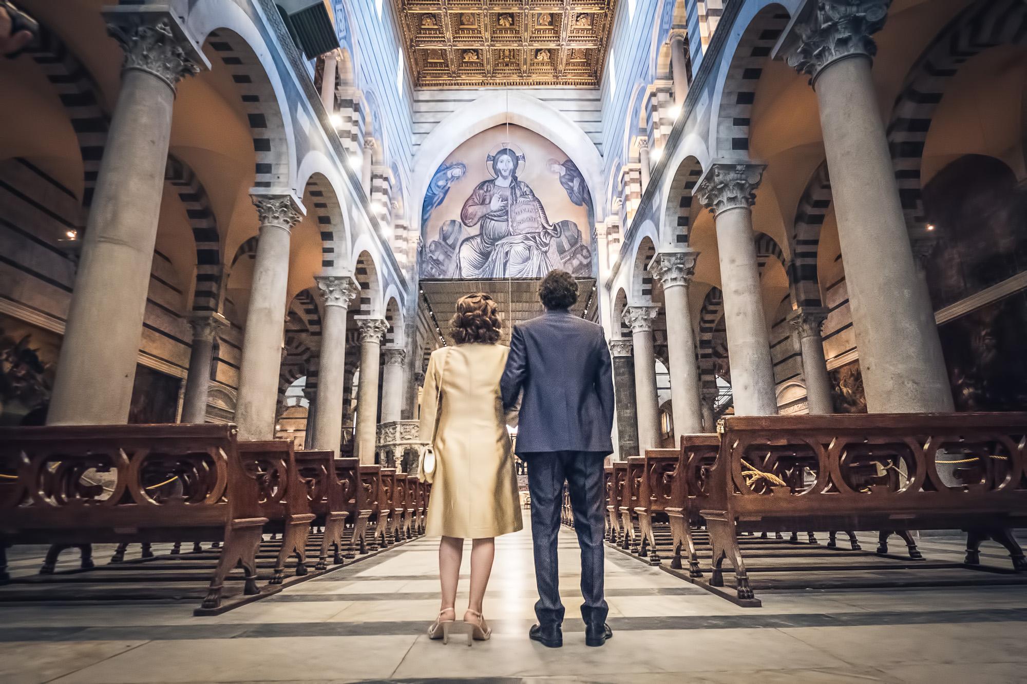 fotografo matrimonio duomo pisa